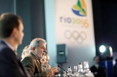Lula defendendo a Candidatura do Rio 2016